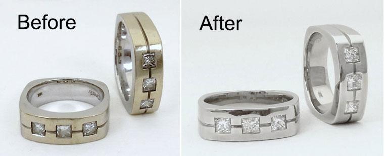 Jewelry Refinishing San Diego Ring Refinishing Service J