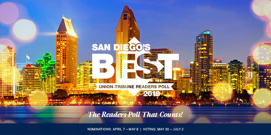 Best of San Diego UT Poll 2019